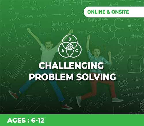 CHALLENGING PROBLEM SOLVING